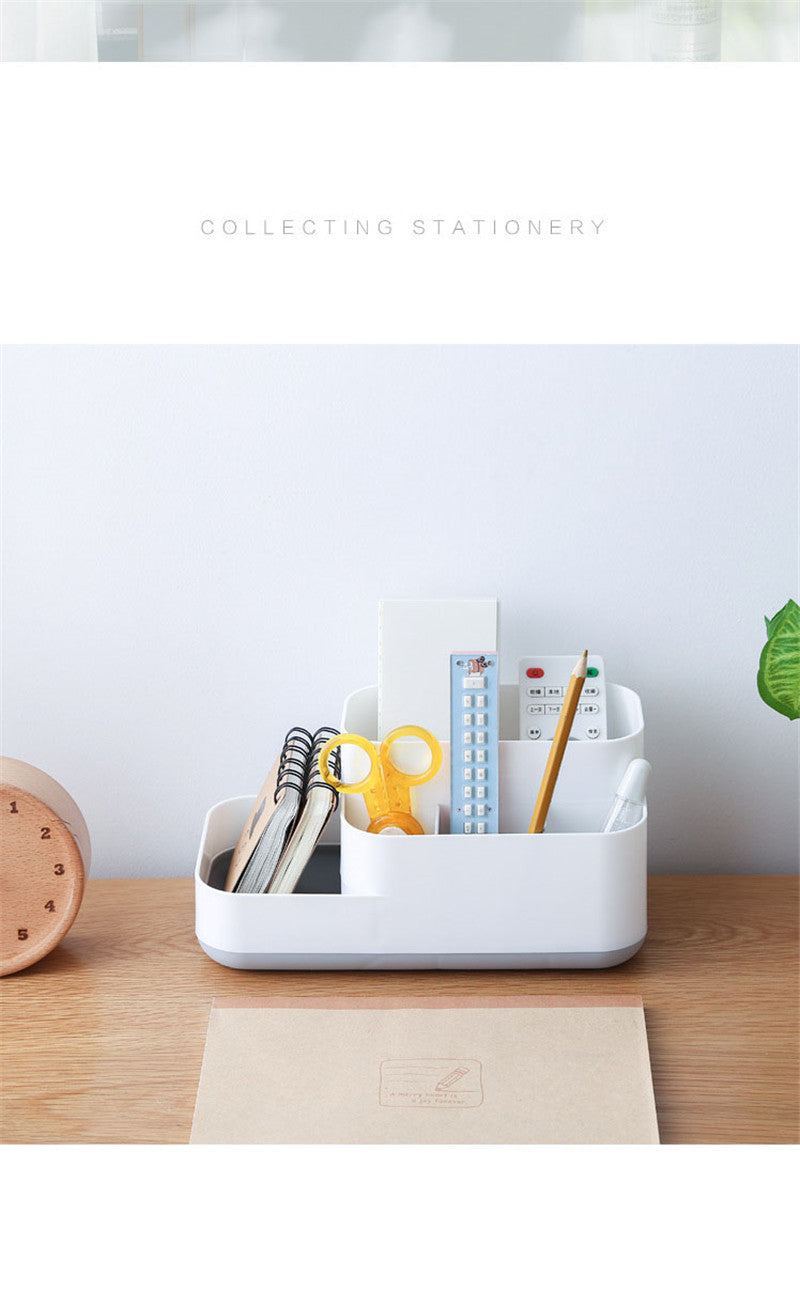 Plastic Makeup Organizer Bathroom Storage