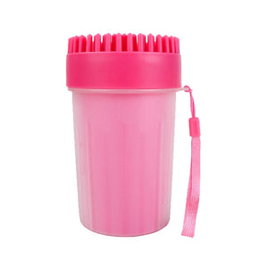 Dog Paw Cleaner Cup Soft Silicone Combs Bucket
