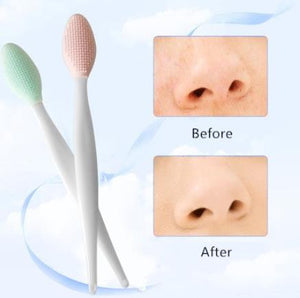 Silicone Beauty Wash Face Exfoliating Blackhead Extrator Remover