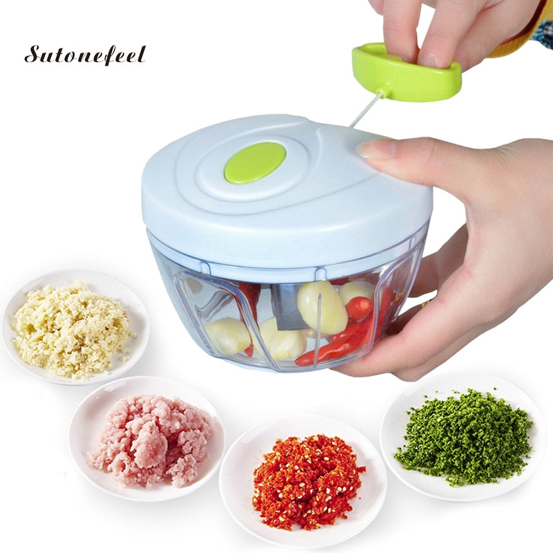 Speedy Chopper Manual Food Processors