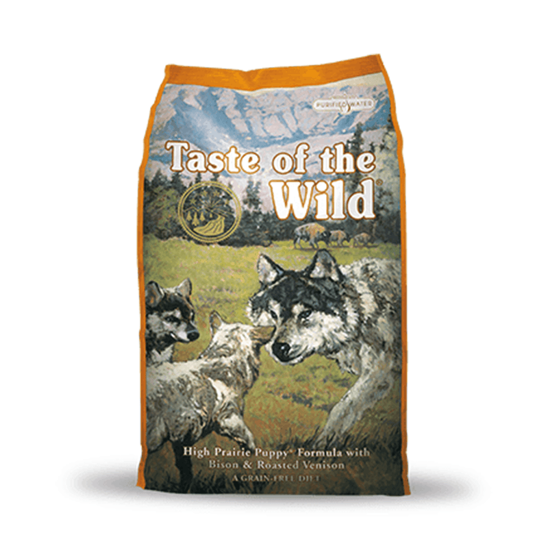 Taste of the Wild High Prairie Puppy Bisonte y Venado Asado - Alimento para perro