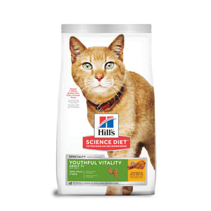 Hill's Science Diet Felino Adult 7+ Youhful Vitality 1.4Kg - Alimento Seco Gato Adulto