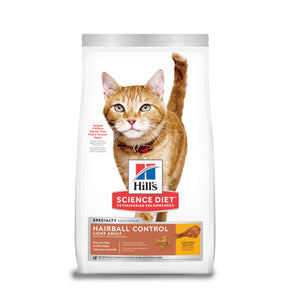 Hill's Science Diet Felino Adult Hairball Control Light 3.2Kg - Alimento Seco Gato Adulto