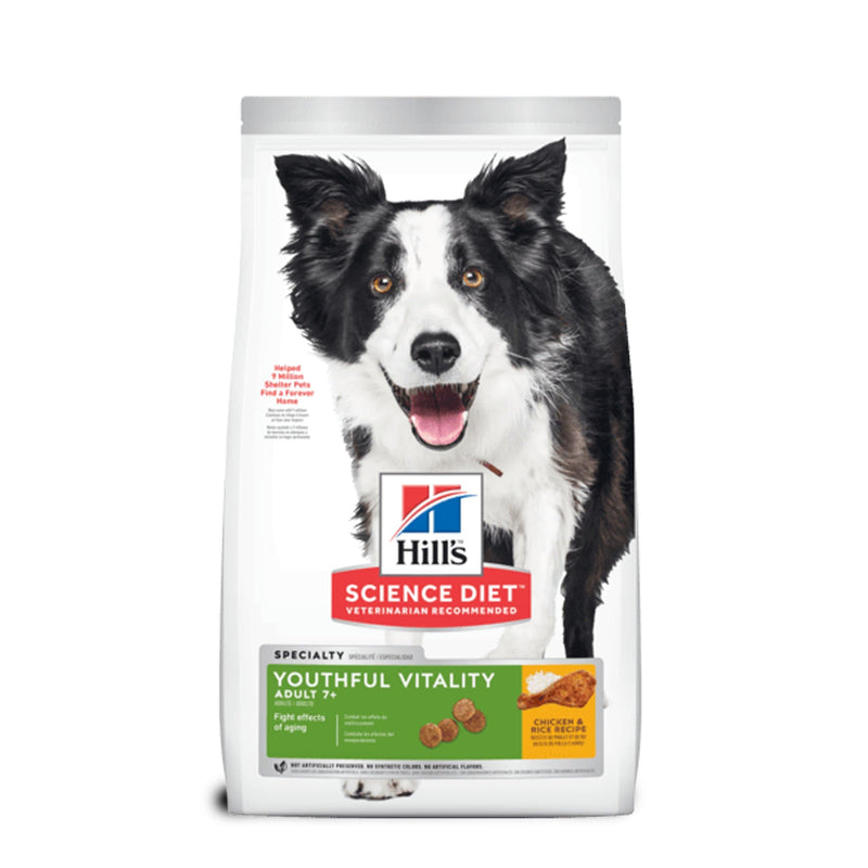 Hill's Science Diet Adult 7+ Youthful Vitality - Alimento Seco Perro Senior