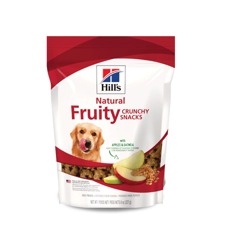 Hill'S Science Diet Natural Fruty Treats - Premios para Perros con Manzana y Avena