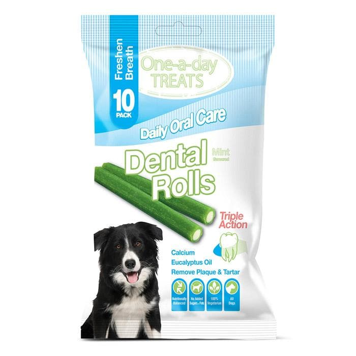 One-a-day Treats Daily Oralcare 10 Pack - Premios para perro