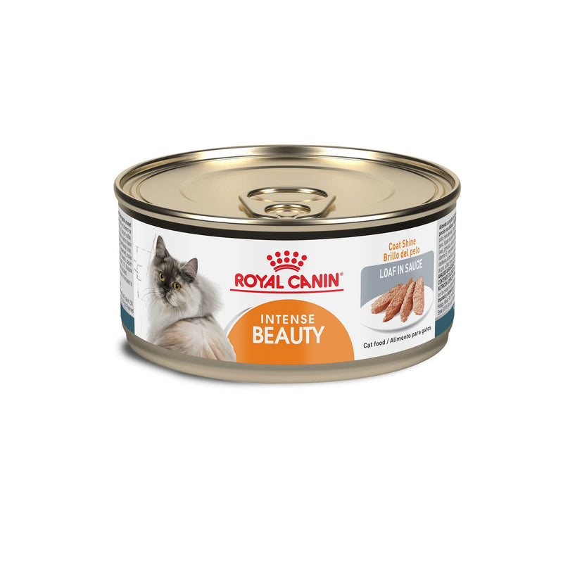 Royal Canin Intense Beauty Loaf in Sauce Lata 165 gr - Alimento Húmedo Gato Adulto