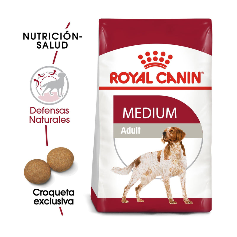 Royal Canin Medium Adult 13.6 kg - Alimento Seco Perro Adulto Raza Mediana