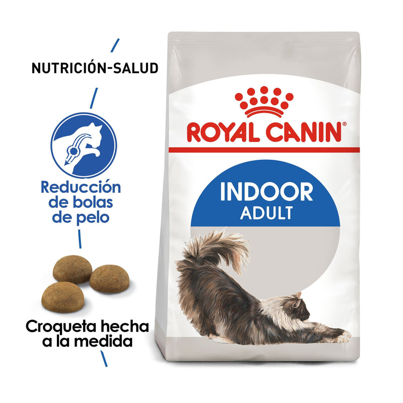 Royal Canin Indoor Adult 3.18kg - Alimento Seco Gato de Interior