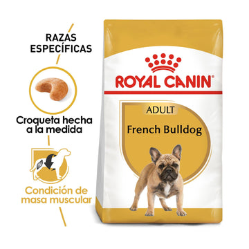 Alimento Royal Canin para Bulldog Francés Adultos, French Bulldog de 2.72 kg