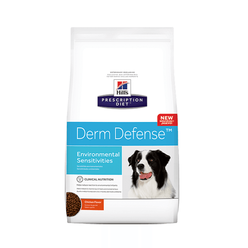Hill's Prescription Diet Derm Defense Canine 11.3kg - Alimento Seco Perro