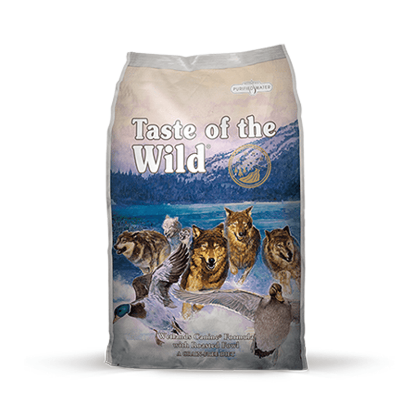 Taste of the Wild Wetlands Canine Pato Asado - Alimento para perro