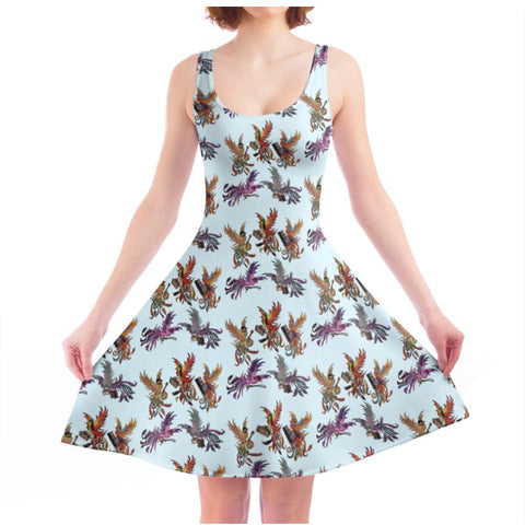 Sky KPH Multi Ladies Skater Dress
