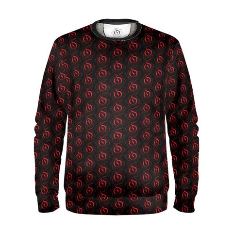 Red on Black EOP Sweatshirt