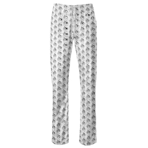Black on White EOP Ladies Trousers
