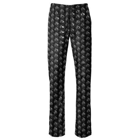 White on Black EOP Ladies Trousers