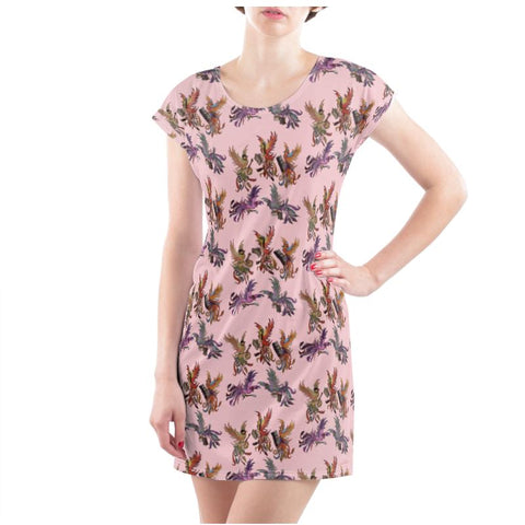 Rose KPH Multi Ladies T Shirt Dress