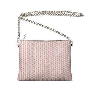 Red on White EOP Crossbody Bag