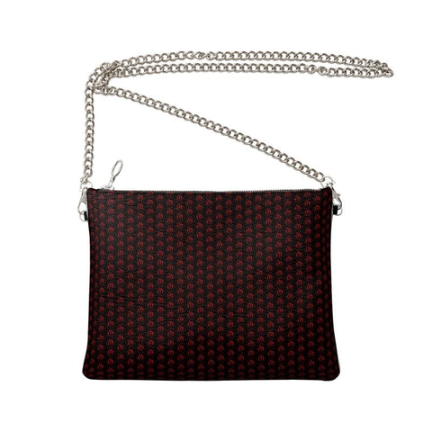 Red on Black EOP Crossbody Bag