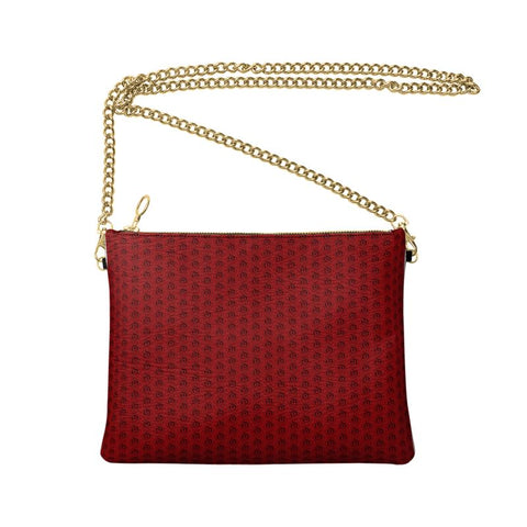 Black on Red EOP Crossbody Bag