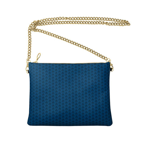 Black on Blue EOP Crossbody Bag