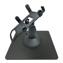 Load image into Gallery viewer, DCCS Low Height Freestanding Swivel and Tilt Castles Vega3000 PIN Pad Stand
