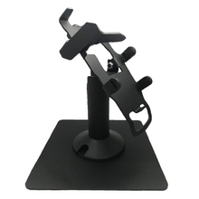 Load image into Gallery viewer, DCCS Freestanding Swivel and Tilt Verifone VX805 Terminal Stand with Key Locking Mechanism