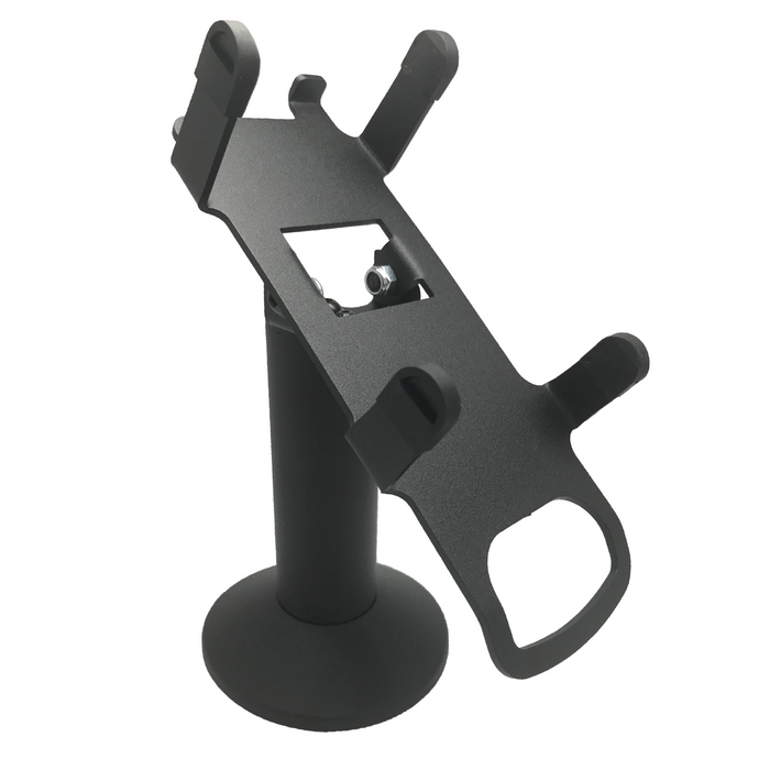 DCCS Swivel and Tilt Dejavoo Z8/Z11 Terminal Stand, Screw-in and Adhesive (Black)