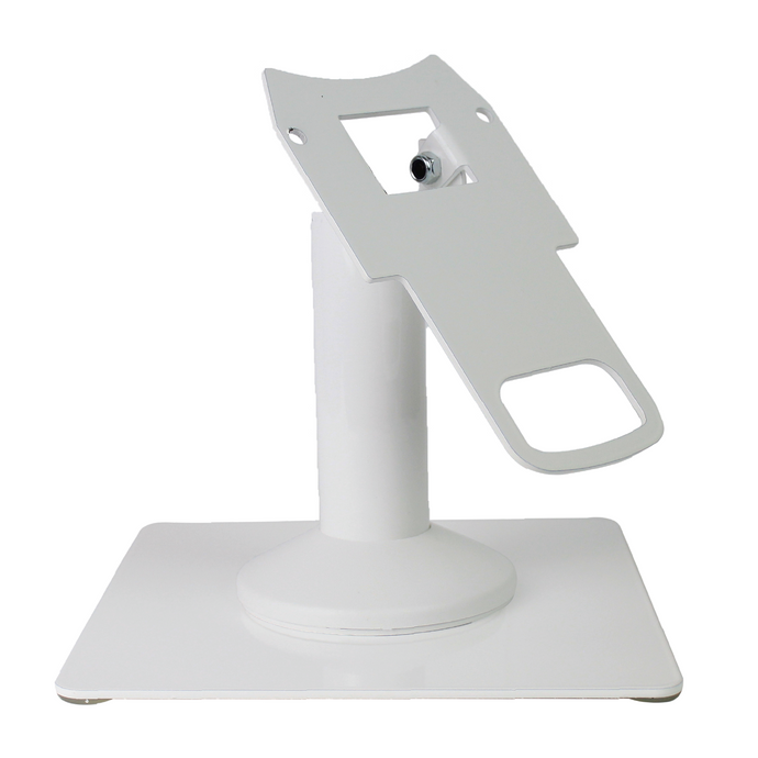 DCCS Freestanding Swivel and Tilt Clover Mini Terminal Stand with Square Plate