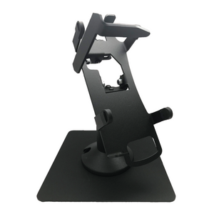 DCCS Freestanding Swivel and Tilt Verifone Vx520 Terminal Stand with Key Locking Mechanism