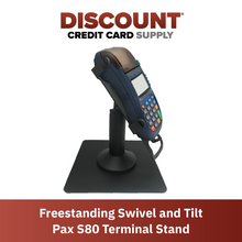 Load image into Gallery viewer, DCCS Freestanding Swivel and Tilt Pax S80 Terminal Stand