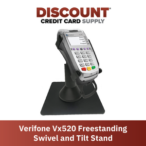 DCCS Freestanding Swivel and Tilt Verifone Vx520 Terminal Stand