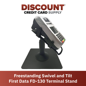 DCCS Freestanding Swivel and Tilt First Data FD130/FD150 Terminal Stand