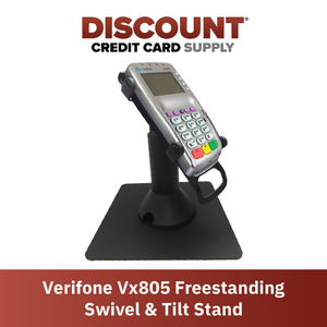 DCCS Freestanding Swivel and Tilt Verifone Vx805 Terminal Stand