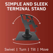 Load image into Gallery viewer, DCCS Freestanding Swivel and Tilt Pax PX7 Terminal Stand