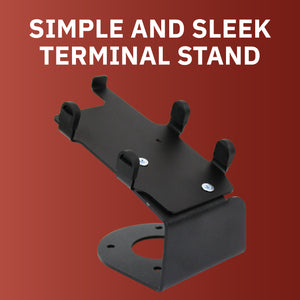 DCCS Fixed Verifone Vx805 Terminal Stand - Screw-in and Adhesive