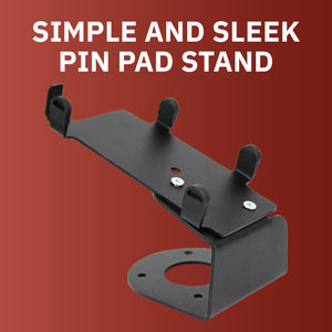 DCCS Fixed PAX S300 and SP30 PIN Pad Holder Stand - Screw-in and Adhesive