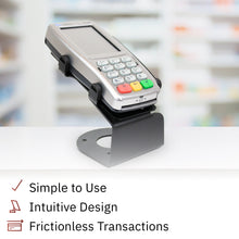 Load image into Gallery viewer, DCCS Fixed Verifone Vx820 Terminal Stand - Screw-in and Adhesive