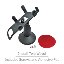 Load image into Gallery viewer, DCCS Low Height Swivel and Tilt Castles Vega3000 PIN Pad Stand, Screw-in and Adhesive