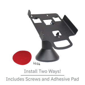 DCCS Swivel and Tilt Ingenico ISC 250 Terminal Stand, Screw-in and Adhesive