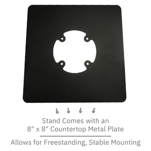 DCCS Freestanding Swivel and Tilt Castles Vega3000 PIN Pad Stand