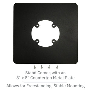 DCCS Low Profile Freestanding Swivel and Tilt Pax Px5 Terminal Stand