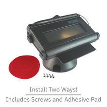 Load image into Gallery viewer, DCCS Low Swivel and Tilt Topaz Signature Pad Stand, Screw-in and Adhesive