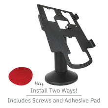 Load image into Gallery viewer, DCCS Swivel and Tilt Pax PX7 Terminal Stand, Screw-in and Adhesive
