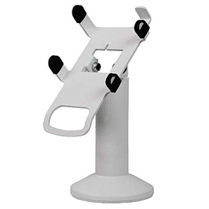 DCCS Swivel and Tilt Castles VEGA3000 Touch PIN Pad Stand, Screw-in and Adhesive (White)