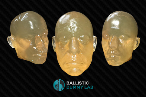 Ballistic Gel Head(no internals)