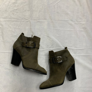 Primary Photo - BRAND: DONALD J PILNER STYLE: BOOTS ANKLE COLOR: GREEN SIZE: 5 SKU: 111-111292-9213