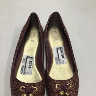 Primary Photo - BRAND: SPERRY STYLE: SHOES FLATS COLOR: PLUM SIZE: 8.5 SKU: 111-111247-56107