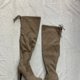 Primary Photo - BRAND: UNISA STYLE: BOOTS KNEE COLOR: TAUPE SIZE: 8.5 SKU: 111-111292-15248