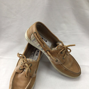 Primary Photo - BRAND: SPERRY STYLE: SHOES FLATS COLOR: TAN SIZE: 6 SKU: 111-111247-49946